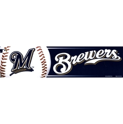 MILWAUKEE BREWERS -  BUMPER STICKER