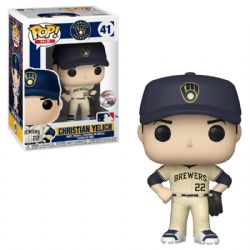 MILWAUKEE BREWERS -  POP! VINYL FIGURE OF CHRISTIAN YELICH #22 (4 INCH) 41