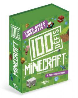 MINECRAFT -  100 DÉFIS MINECRAFT