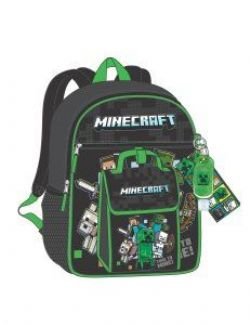 MINECRAFT -  6 PIECES KIDS BACKPACK