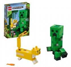 MINECRAFT -  BIGFIG CREEPER AND OCELOT (184 PIECES) 21156