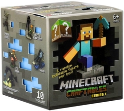 MINECRAFT -  BUILDABLE MYSTERY FIGURE - SERIES 1 1 -  CRAFTABLES