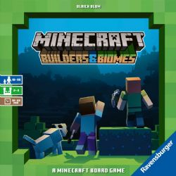 MINECRAFT BUILDERS & BIOMES : THE BOARD GAME -  BASE GAME (ENGLISH)