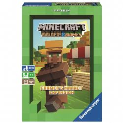 MINECRAFT BUILDERS & BIOMES : THE BOARD GAME -  FARMER'S MARKET EXPANSION (ENGLISH)