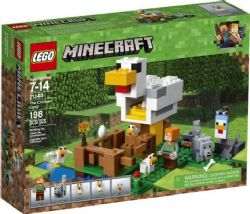 MINECRAFT -  THE CHICKEN COOP (198 PIECES) 21140