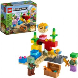 MINECRAFT -  THE CORAL REEF (92 PIECES) 21164