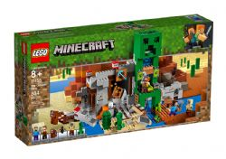 MINECRAFT -  THE CREEPER MINE (834 PIECES) 21155