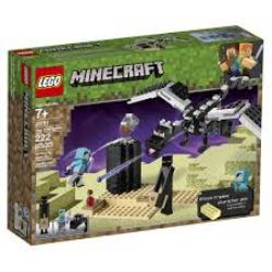 MINECRAFT -  THE END BATTLE (222 PIECES) 21151