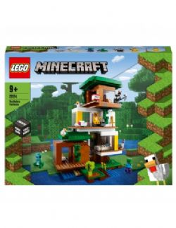 MINECRAFT -  THE MODERN TREEHOUSE (909 PIECES) 21174