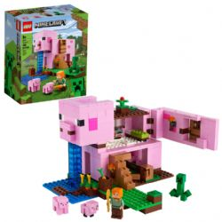 MINECRAFT -  THE PIG HOUSE (490 PIECES) 21170
