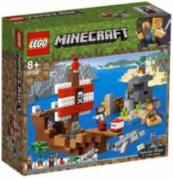 MINECRAFT -  THE PIRATE SHIP ADVENTURE (386 PIECES) 21152