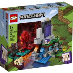 MINECRAFT -  THE RUINED PORTAL (316 PIECES) 21172