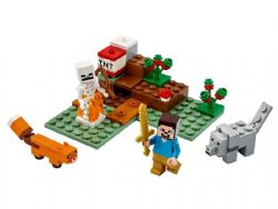 MINECRAFT -  THE TAIGA ADVENTURE (74 PIECES) 21162