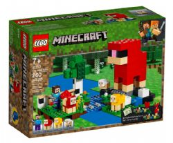 MINECRAFT -  THE WOOL FARM (260 PIECES) 21153