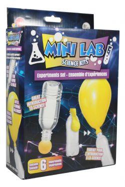 MINI LAB SCIENCE KITS -  EXPERIMENTS SET - 6 EXPERIMENTS (MULTILINGUAL)