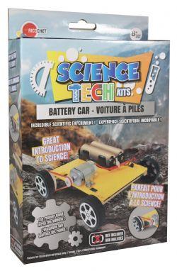 MINI TECHNO SCIENCE KIT -  BATTERY CAR (MULTILINGUAL)
