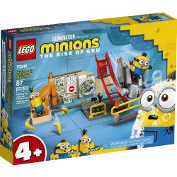MINIONS -  MINIONS IN GRU'S LAB (87 PIECES) -  THE RISE OF GRU 75546