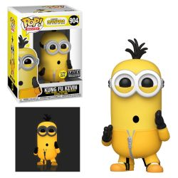 MINIONS -  POP! VINYL FIGURE OF KUNG FU KEVIN (GLOW IN THE DARK) (4 INCH) -  THE RISE OF GRU 904