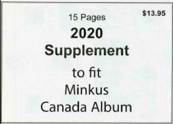MINKUS CANADA -  2020 SUPPLEMENT - NON OFFICIAL (WITHOUT MOUNTS)