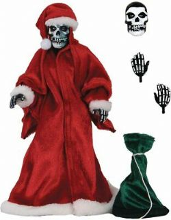 MISFITS -  HOLIDAY FIEND CLOTH EDITION ACTION FIGURE (8INCHES)