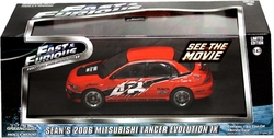 MITSUBISHI -  SEAN'S LANCER EVOLUTION IX 1/43 - RED -  FAST AND FURIOUS