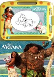 MOANA -  LIVRE + ARDOISE MAGIQUE