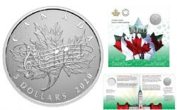 MOMENTS TO HOLD (2020) -  40TH ANNIVERSARY OF THE NATIONAL ANTHEM ACT -  2020 CANADIAN COINS 04