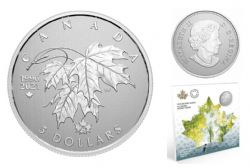 MOMENTS TO HOLD (2021) -  25TH ANNIVERSARY OF CANADA'S ARBOREAL EMBLEM -  2021 CANADIAN COINS 02