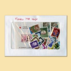 MONACO -  1978 COMPLETE YEAR SET, NEW STAMPS