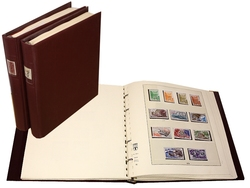 MONACO -  STAMPS COLLECTION FROM 1885 TO 1984 (LINDNER ALBUMS)