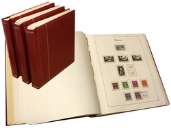MONACO -  STAMPS COLLECTION FROM 1885 TO 1986 (SCHAUBEK ALBUMS)
