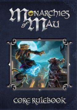 MONARCHIES OF MAU -  CORE RULEBOOK (ENGLISH)