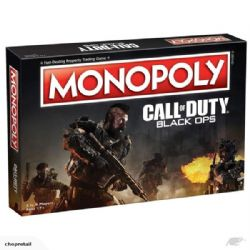 MONOPOLY -  CALL OF DUTY : BLACK OPS (ENGLISH)