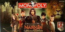 MONOPOLY -  CHRONICLES OF NARNIA (ENGLISH) -  COLLECTOR'S EDITION 2008