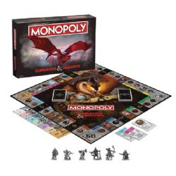 MONOPOLY -  DUNGEONS AND DRAGONS (ENGLISH)