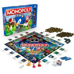 MONOPOLY: GAMER -  SONIC THE HEDGEHOG (MULTILINGUAL)