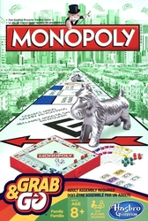 MONOPOLY -  GRAB AND GO (BILINGUAL)