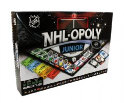 MONOPOLY -  NHL-OPOLY JUNIOR (BILINGUAL)