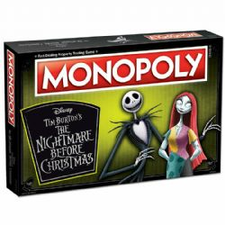 MONOPOLY -  NIGHTMARE BEFORE CHRISTMAS (MULTILINGUAL)