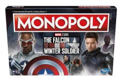 MONOPOLY -  THE FALCON AND THE WINTER SOLDIER (ENGLISH)