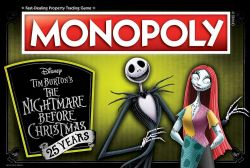 MONOPOLY -  THE NIGHTMARE BEFORE CHRISTMAS, 25 YEARS