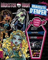 MONSTER HIGH -  BRACELETS D'ENFER - BRACELETS BRESILIENS ET SHAMBALLAS