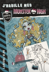 MONSTER HIGH -  LAGOONA BLUE -  J'HABILLE MES MONSTER HIGH