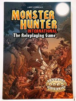 MONSTER HUNTER INTERNATIONAL -  SAVAGE WORLDS (ENGLISH)