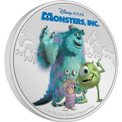 MONSTERS, INC. -  MONSTERS, INC. 20TH ANNIVERSARY -  2021 NEW ZEALAND MINT COINS