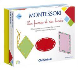 MONTESSORI -  DES FORMES ET DES LACETS (FRENCH)