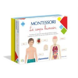 MONTESSORI -  LE CORPS HUMAIN (FRENCH)