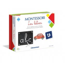MONTESSORI -  LES LETTRES (FRENCH)