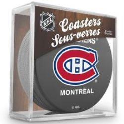 MONTREAL CANADIENS -  4-PACK COASTER SET