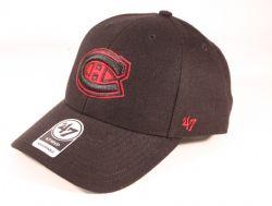 MONTREAL CANADIENS -  ADJUSTABLE BLACK CAP